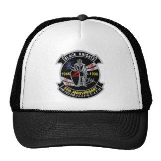 VF-154 aniversario de los caballeros negros 50 Gorros