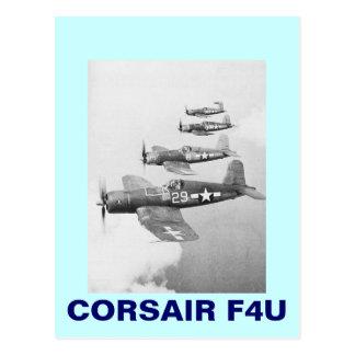 VF-17 F4U CORSAIRS POSTCARD