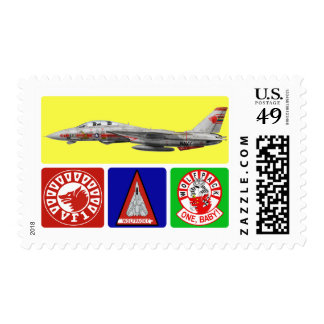 VF-1 Wolfpack F-14 Tomcat Postage Stamps