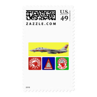 VF-1 Wolfpack F-14 Tomcat Stamps