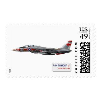 VF-1 Wolfpack F-14 Tomcat Postage