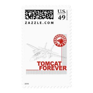 VF-1 Wolfpack F-14 Tomcat Postage Stamp