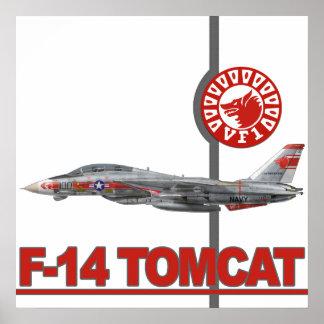 VF-1 Wolfpacks Prints Poster