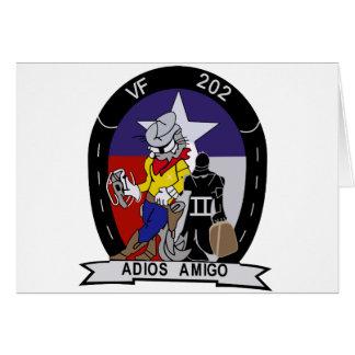 VF-202 sobrecalienta Tarjeta De Felicitación