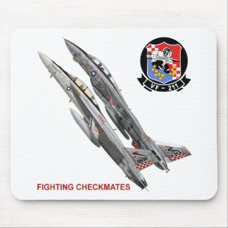 VF-211 Fighting Checkmates Mouse Pad