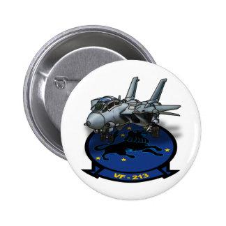 VF-213 que lucha Blacklions Pins