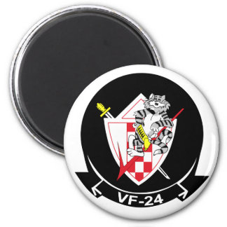 VF-24 Fighting Renegades 2 Inch Round Magnet