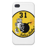 VF-31 Tomcatters iPhone Case iPhone 4/4S Case