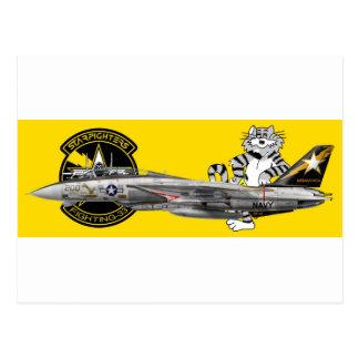 VF-33 Starfighters F-14 トムキャット VF-33 ターシアーズ Post Card