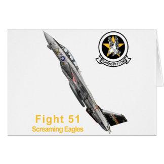 VF-51 Screaming Eagles Card