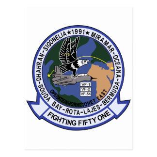 VF-51 Screaming Eagles Postcard