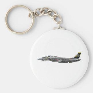 vf-84 f-14 Tomcat Basic Round Button Keychain