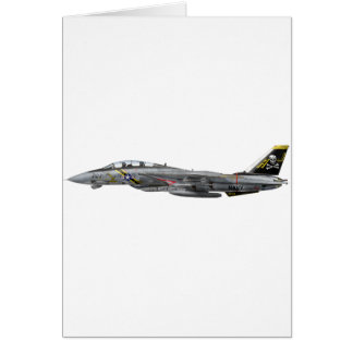 vf-84 f-14 Tomcat Card