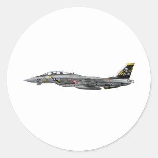 vf-84 f-14 Tomcat Pegatina Redonda