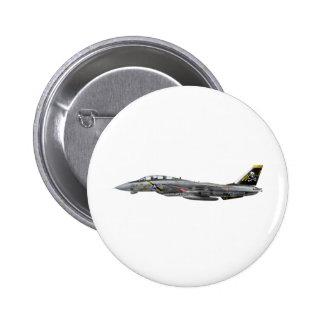 vf-84 f-14 Tomcat Pin Redondo De 2 Pulgadas
