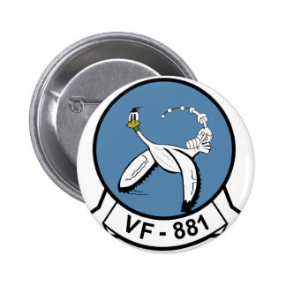 VF-881 PINBACK BUTTONS