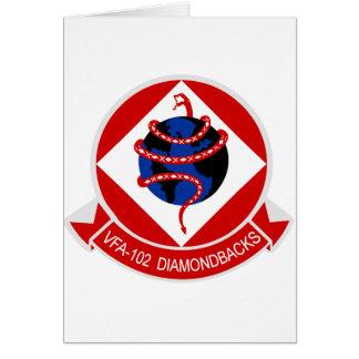 VFA-102 Diamondbacks Card