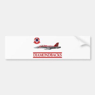 VFA-102 Diamondbacks F-18 Hornet Bumper Sticker