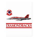 VFA-102 Diamondbacks F-18 Hornet Post Cards