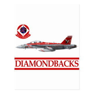 VFA-102 Diamondbacks F-18 Hornet Postcard