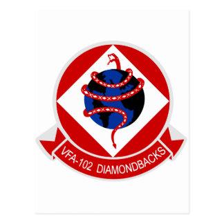 VFA-102 Diamondbacks Postcard