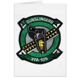vfa-105 squadron patch card
