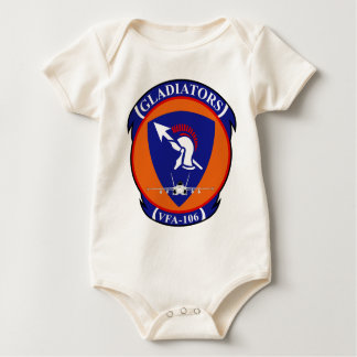 VFA - 106 Fighter Squadron - Gladiators Baby Bodysuit