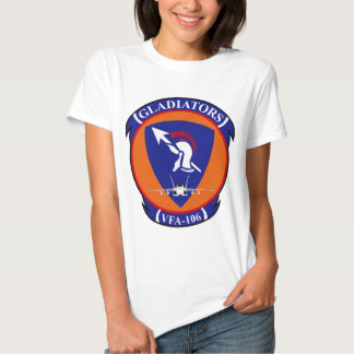 VFA - 106 Fighter Squadron - Gladiators Tee Shirt