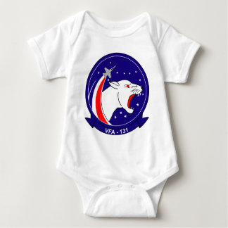 VFA - 131 Fighter Squadron - Wildcats Baby Bodysuit