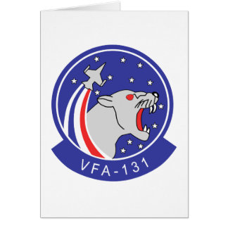 VFA-131 WILDCATS CARD