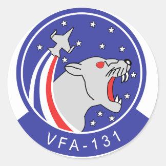 VFA-131 WILDCATS CLASSIC ROUND STICKER