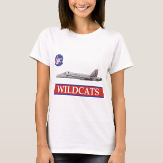 VFA-131 WILDCATS Squadron with F-18 T-Shirt