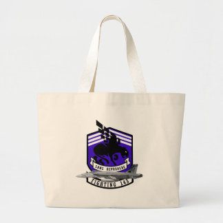 VFA-143 Pukin Dogs F-18 Hornet Tote Bags
