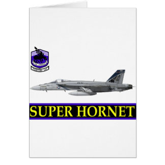 VFA-143 Pukin Dogs F-18 Hornet Greeting Card