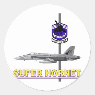 VFA-143 Pukin Dogs F-18 Hornet Round Stickers