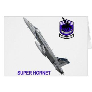 """VFA-143 """"Pukin persigue"""" el avispón F-18 Tarjeta De Felicitación"""