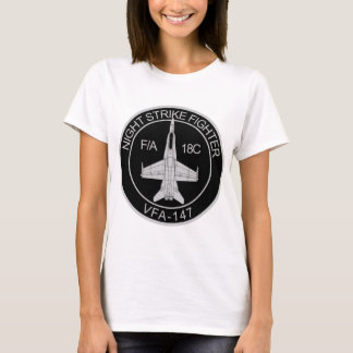VFA - 147 Night Strike Fighter - F/A 18C T-Shirt