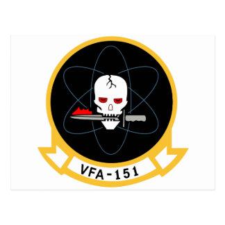 VFA-15 Valions Postcard