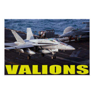 VFA-15 Valions Poster
