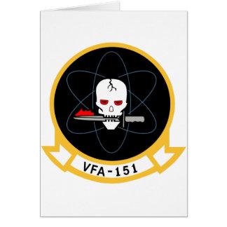 VFA-15 Valions Tarjeta De Felicitación