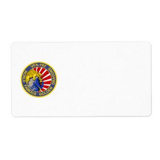 VFA-192 Golden Dragon Avery Label