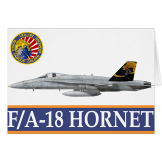 VFA-192 GOLDENDRAGONS Squadron Patch Card