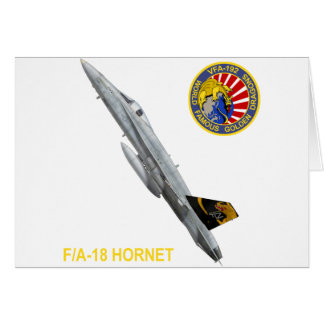 VFA-192 GOLDENDRAGONS Squadron Patch Greeting Cards
