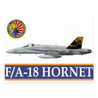 VFA-192 GOLDENDRAGONS Squadron Patch Postcards