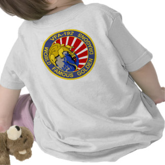 VFA-192 GOLDENDRAGONS Squadron Patch Tee Shirts