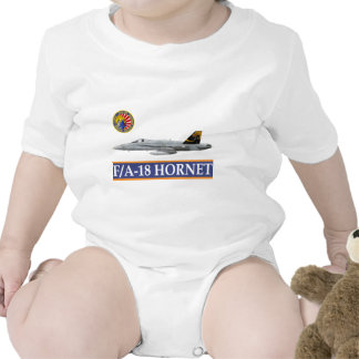 VFA-192 GOLDENDRAGONS Squadron Patch Baby Bodysuits
