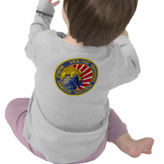 VFA-192 GOLDENDRAGONS Squadron Patch Shirt