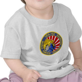 VFA-192 GOLDENDRAGONS Squadron Patch Tee Shirt