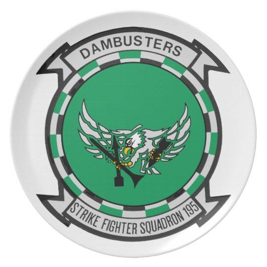 VFA-195 Dambusters Plate