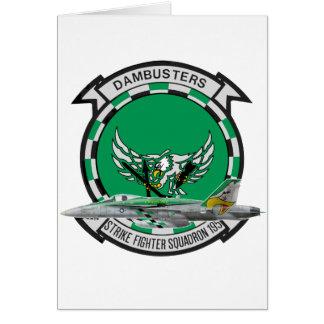 VFA-195 Dambusters Tarjeta